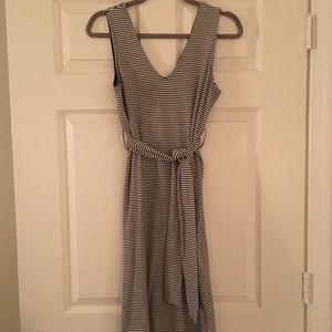 Topshop Tie-Waist Shift Dress